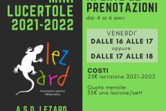 Mini Lucertole 2021-2022